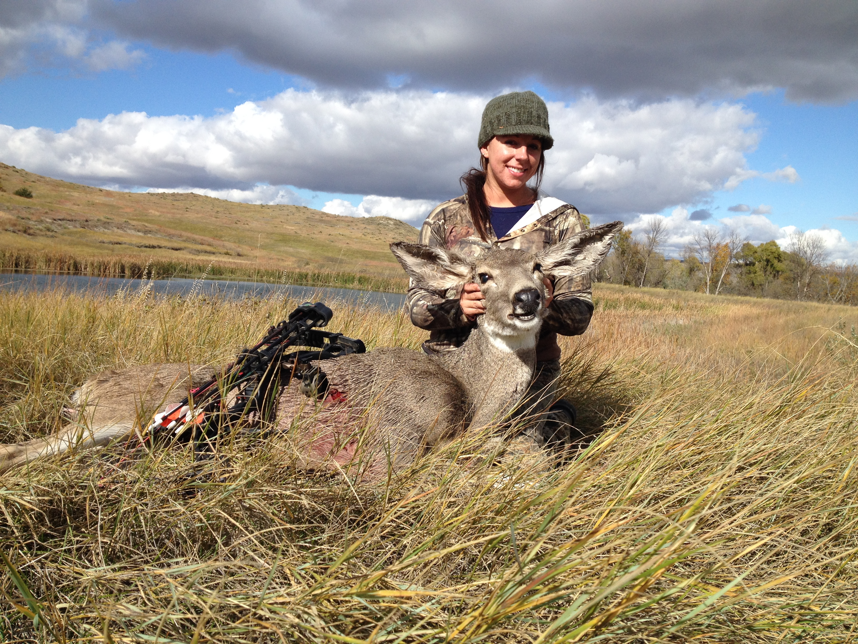 Nicole First Archery Deer 2013